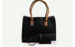 Conjunto mala e bolsa de mão